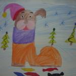 Валтусова Анастасия 9 лет Символ года Собака