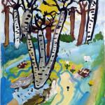 Голубая весна Селиванов Илья 6 лет