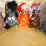 Гусева Анастасия, 7 лет Новогодние игрушки из лампочек