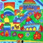 Матвеева Полина 6 лет мой любимый Новосибирск
