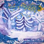 Судобина Ульяна  7 лет «Волшебная зима»